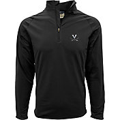 Levelwear Men's Virginia Cavaliers Black Metro Quarter-Zip Pullover
