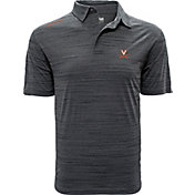 Levelwear Men's Virginia Cavaliers Grey Sway Polo