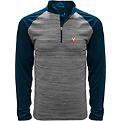 Levelwear Men's Virginia Cavaliers Grey Vandal Quarter-Zip Shirt