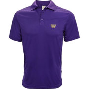 Levelwear Men's Washington Huskies Purple Helium Polo