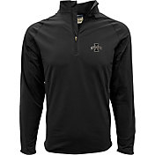 Levelwear Men's Iowa State Cyclones Black Metro Quarter-Zip Pullover