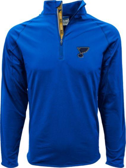 Levelwear Men's St. Louis Blues Metro Royal Quarter-Zip Pullover