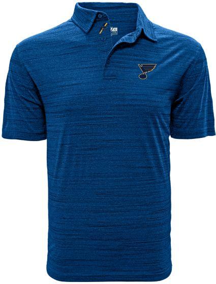 Levelwear Men's St. Louis Blues Sway Royal Polo