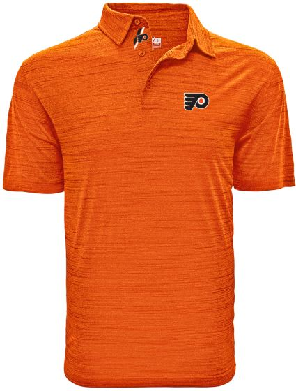 Levelwear Men's Philadelphia Flyers Sway Orange Polo