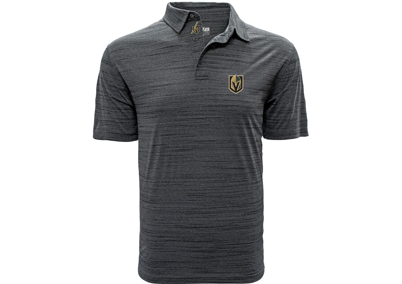 Levelwear Men's Vegas Golden Knights Sway Grey Polo