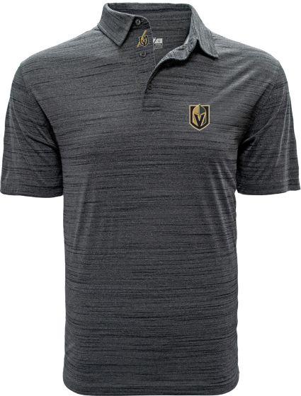 Levelwear Men's Vegas Golden Knights Sway Grey Polo