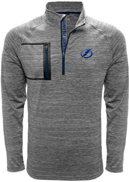 Levelwear Men s Tampa Bay Lightning Vault Grey Quarter-Zip Pullover ... 24d89e0393d2