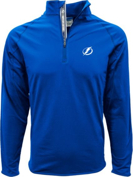 Levelwear Men's Tampa Bay Lightning Metro Royal Quarter-Zip Pullover