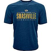 Levelwear Men's Nashville Predators Smashville Navy T-Shirt