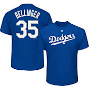 Majestic Boys' Los Angeles Dodgers Cody Bellinger #35 Royal T-Shirt