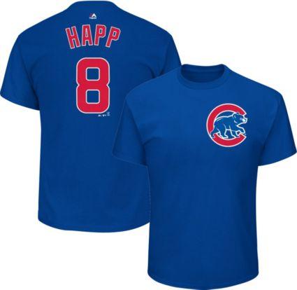 Majestic Men s Chicago Cubs Ian Happ  8 Royal T-Shirt. noImageFound 475205b86