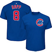 Majestic Men's Chicago Cubs Ian Happ #8 Royal T-Shirt
