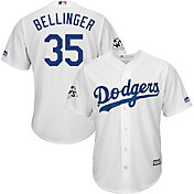 Majestic Men's 2017 World Series Replica Los Angeles Dodgers Cody Bellinger Cool Base Home White Jersey