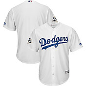 Majestic Men's 2017 World Series Replica Los Angeles Dodgers Cool Base Home White Jersey