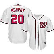 Majestic Men's Replica Washington Nationals Daniel Murphy #20 Cool Base Home White Jersey
