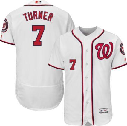 57a38a390ce Majestic Men s Authentic Washington Nationals Trea Turner  7 Flex ...