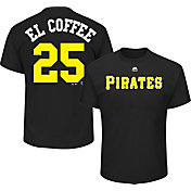 """Majestic Men's Pittsburgh Pirates Gregory Polanco """"El Coffee"""" MLB Players Weekend T-Shirt"""