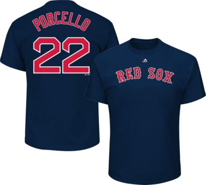 Shirt Boston Navy Majestic Rick Men's Porcello22 Sox T Red vONn0mPy8w