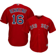 Majestic Men's Replica Boston Red Sox Andrew Benintendi #16 Cool Base Alternate Red Jersey