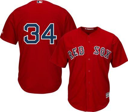 Majestic Men s Replica Boston Red Sox David Ortiz  34 Cool Base ... 05e8f0880ee