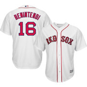 b910932a7a5 Majestic Men s Replica Boston Red Sox Andrew Benintendi  16 Cool Base Home White  Jersey