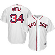 ec8908f88 Majestic Men s Replica Boston Red Sox David Ortiz  34 Cool Base Home White  Jersey