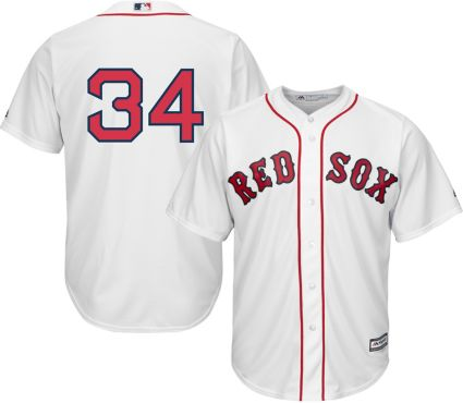 Majestic Men s Replica Boston Red Sox David Ortiz  34 Cool Base Home ... 1ed497a0c24