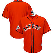 Majestic Men's 2017 World Series Champions Replica Houston Astros Cool Base Alternate Orange Jersey