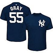 Majestic Men's New York Yankees Sonny Gray #55 Navy T-Shirt
