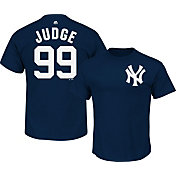 eedc1c56917 Product Image · Majestic Men s New York Yankees Aaron Judge  99 Navy T-Shirt