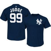Majestic Men s New York Yankees Aaron Judge  99 Navy T-Shirt ... 5f924d720b8