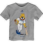 Majestic Toddler Kansas City Royals Mascot Grey T-Shirt