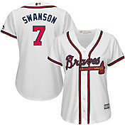 Product Image · Majestic Women s Replica Atlanta Braves Dansby Swanson  7  Cool Base Home White Jersey c41d1c2a5