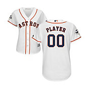 Majestic Women's Full Roster Replica 2017 World Series Houston Astros Cool Base Home White Jersey