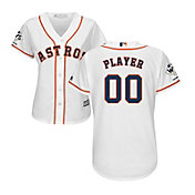 Majestic Women's Full Roster Replica 2017 World Series Champions Houston Astros Cool Base Home White Jersey