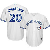 Majestic Youth Replica Toronto Blue Jays Josh Donaldson #20 Cool Base Home White Jersey
