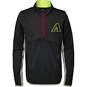 Majestic Youth Arizona Diamondbacks Excellence Quarter-Zip Fleece