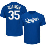 Majestic Youth Los Angeles Dodgers Cody Bellinger  35 Royal T-Shirt ... e92103f5217