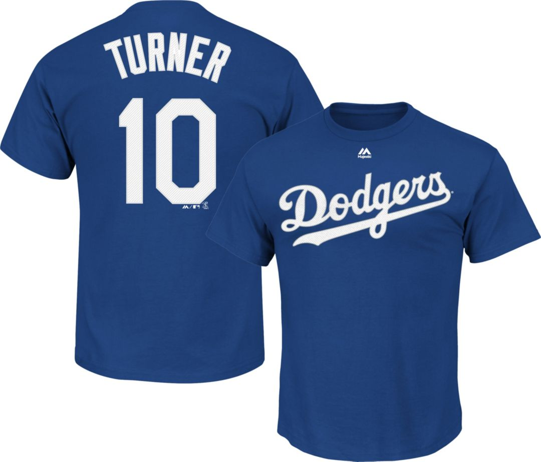 check out 7ea2c afc85 Majestic Youth Los Angeles Dodgers Justin Turner #10 Royal T-Shirt