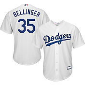Youth Replica Los Angeles Dodgers Cody Bellinger #35 Home White Jersey