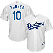 Youth Replica Los Angeles Dodgers Justin Turner #10 Home White Jersey