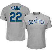 Majestic Youth Seattle Mariners Robinson Cano #22 Grey T-Shirt