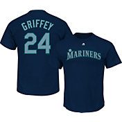 Majestic Youth Seattle Mariners Ken Griffey Jr. #24 Navy T-Shirt