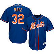 Majestic Youth Replica New York Mets Steven Matz #32 Cool Base Alternate Royal Jersey