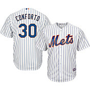 Majestic Youth Replica New York Mets Michael Conforto #30 Cool Base Home White Jersey