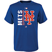 Majestic Youth New York Mets Authentic Collection Royal T-Shirt