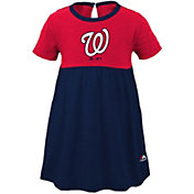 Majestic Youth Girls' Washington Nationals Twirl Dress