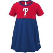 Majestic Youth Girls' Philadelphia Phillies Twirl Dress