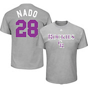 "Majestic Youth Colorado Rockies Nolan Arenado ""Nado"" MLB Players Weekend T-Shirt"