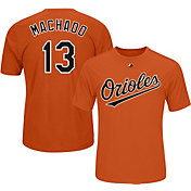 Majestic Youth Baltimore Orioles Manny Machado #13 Orange Performance T-Shirt